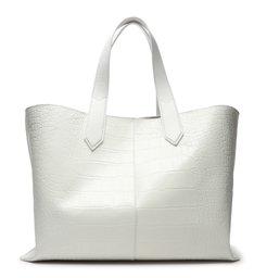Shopping Bag Alexia Texture White