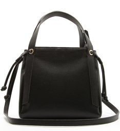 Mini Bucket Bag Crossbody Black