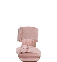 Sandália Mule Super Buckle Rose