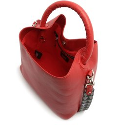 NELLY NEW BUCKET TRIANGLE RED