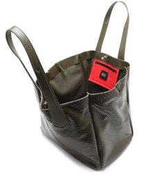 Shopping Bag New Maxxi Bright Snake Militar Green