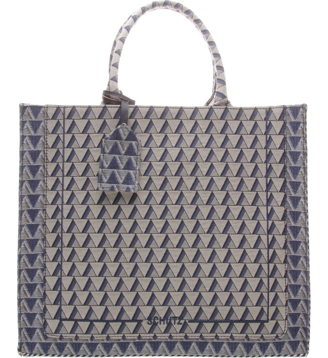 Maxi Tote Jack Triangle  Blue