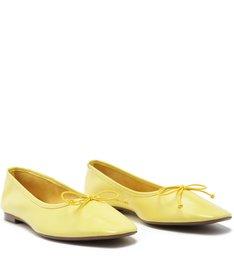 Sapatilha Classic Verniz Yellow