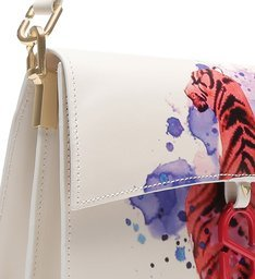 "Shoulder Bag Artsy ""A to Z"" White"
