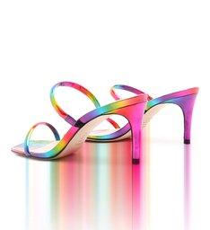 Sandália Mule Straps Rainbow
