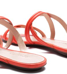 Slide Double Straps Coral