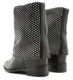 Flat Boot Malha Black